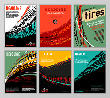 Tire Brochure Set