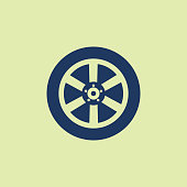 Tire - Vehicle Part, Wheel, Sports Race, Sign, Circle