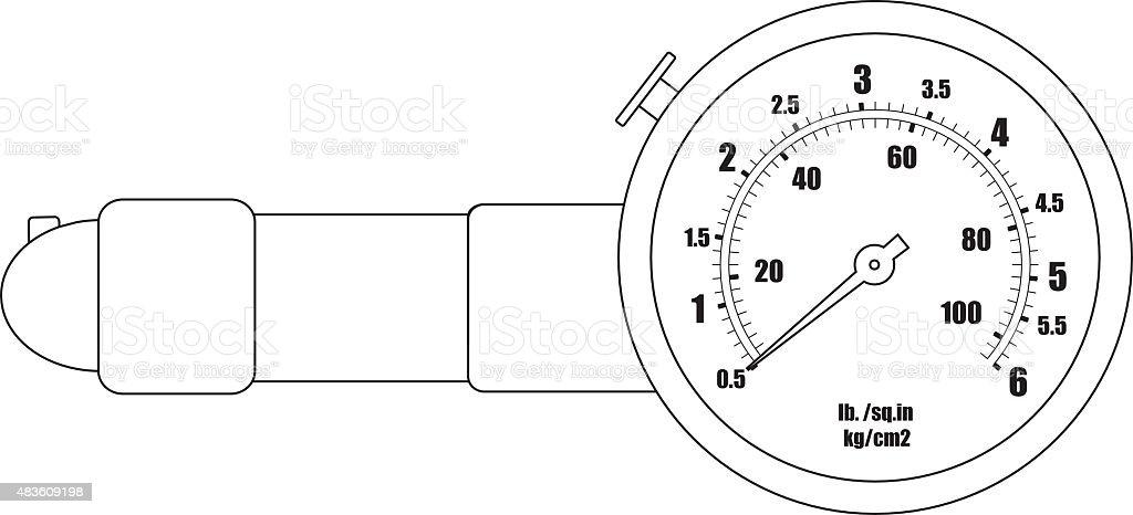 Tire Pressure Gauge Schematic - DIY Enthusiasts Wiring Diagrams •