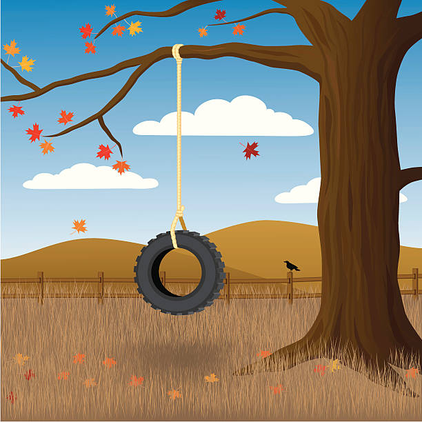 Best Tire Prices >> Tire Swing Illustrations, Royalty-Free Vector Graphics ...