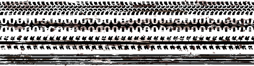 Tire Tracks (Seamless)