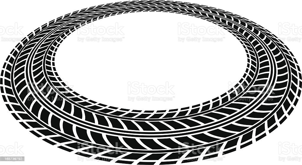tire tread circle stock vector art more images of circle 165739792 rh istockphoto com tire tread vector art free tire tread vector file