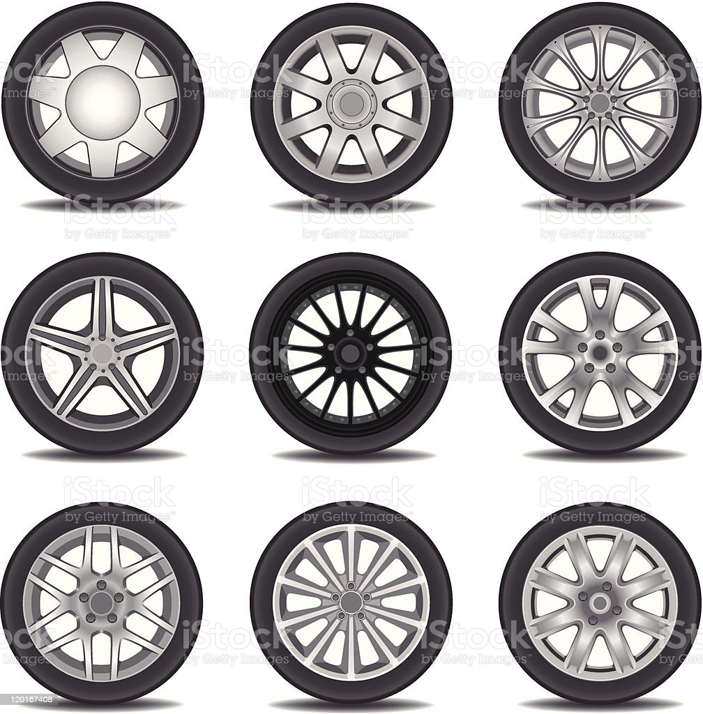 Tire royalty-free tire stock vector art & more images of black color