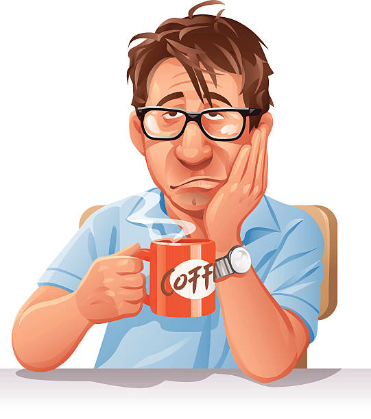 Best Man Drinking Coffee Illustrations, Royalty-Free ...