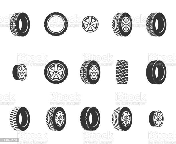 Tires wheel disks auto service vector icons vector id660425706?b=1&k=6&m=660425706&s=612x612&h=pimx9irm ho0qzc5yjv6 jpz7f6bo4udrjqupwiemyg=