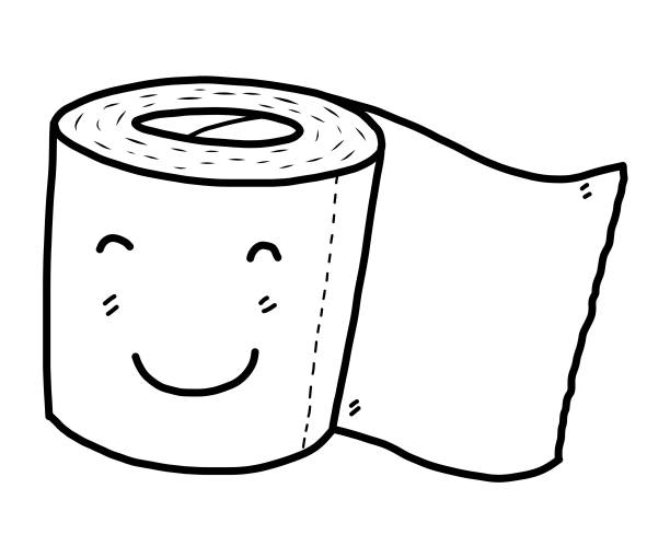 Best Toilet Paper Illustrations, Royalty-Free Vector ...