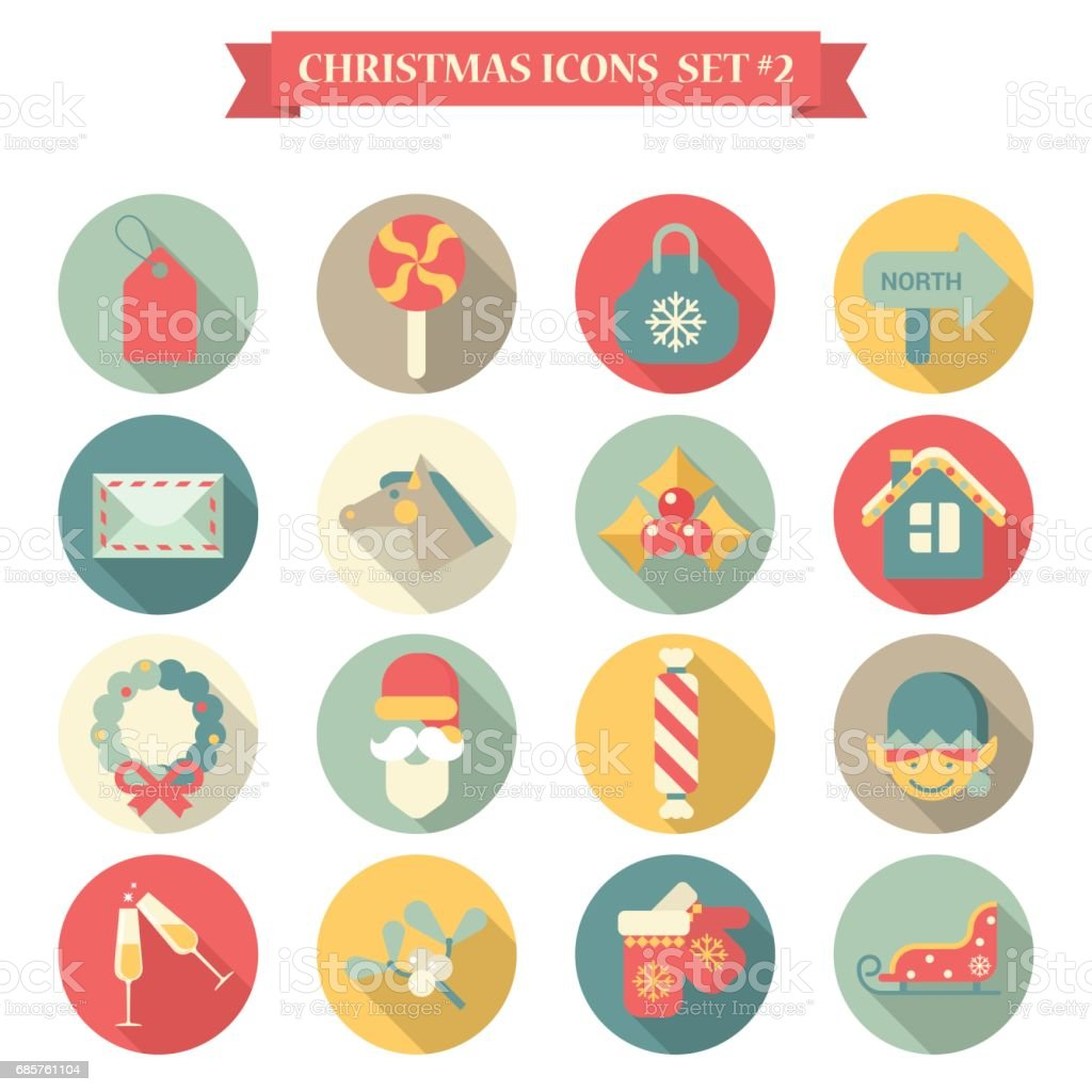 Title Christmas New Year icon set flat style wreath label candy bag mail horse santa champagne gloves sledge elf. Collection of seasonal greeting holiday icons web element infographics print template. title christmas new year icon set flat style wreath label candy bag mail horse santa champagne gloves sledge elf collection of seasonal greeting holiday icons web element infographics print template - immagini vettoriali stock e altre immagini di belize royalty-free