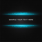 Vector background blue abstract light. EPS10. Contains transparency.