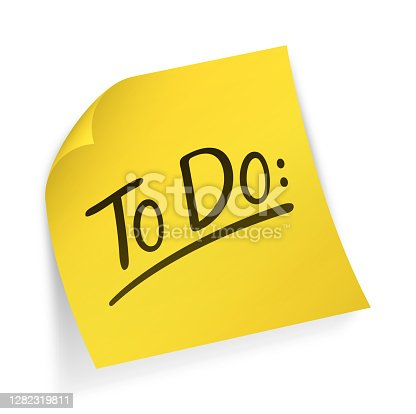 istock To Do Reminder Note 1282319811