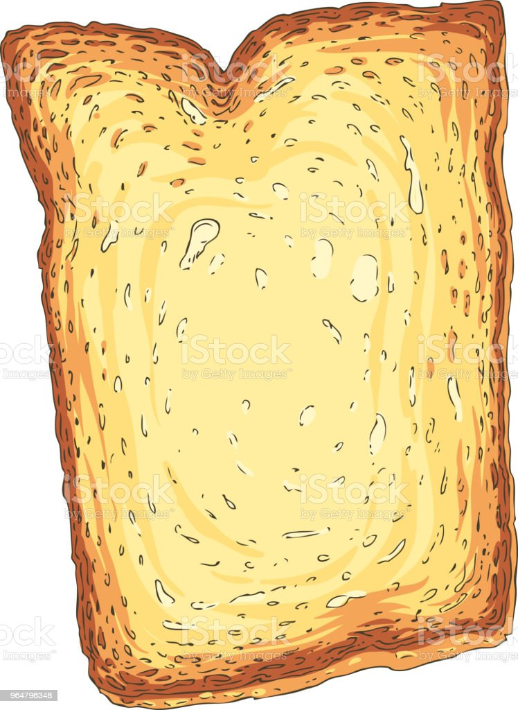 Toast. Toasted Sliced Bread royalty-free toast toasted sliced bread stock vector art & more images of baked