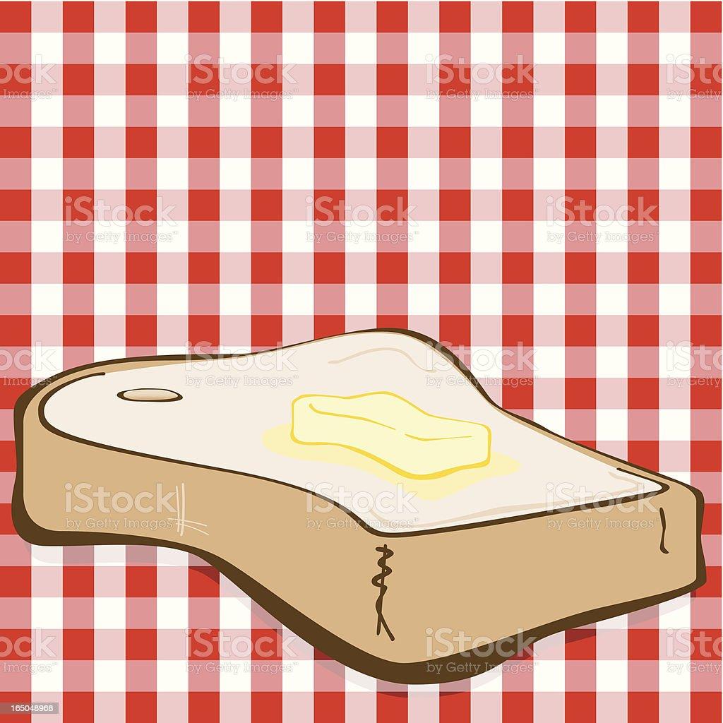 Toast royalty-free stock vector art