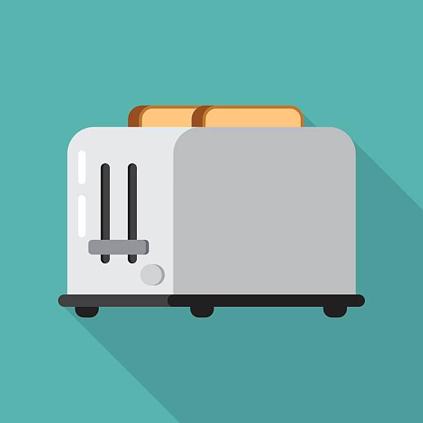 ilustrações de stock, clip art, desenhos animados e ícones de tostador e pão - burned cooking