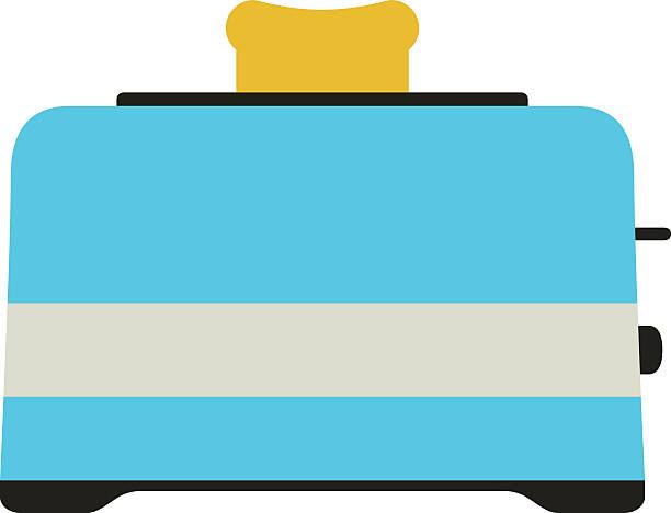ilustrações de stock, clip art, desenhos animados e ícones de tostador ícone do cartão - burned cooking