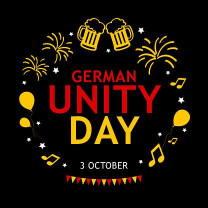 Toasting German Unity Day