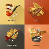 tobacco design concept