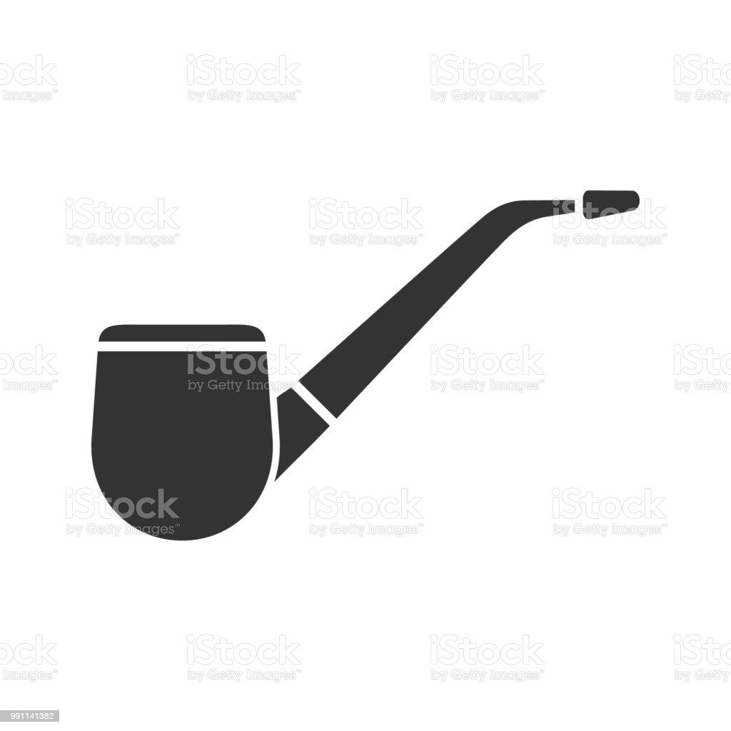 Ilustración de Tabaco Icono De Tuberías y más banco de imágenes de ...