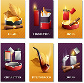tobacco products cards