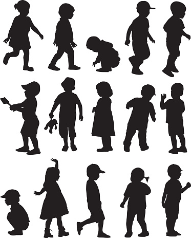 Toddler Silhouettes
