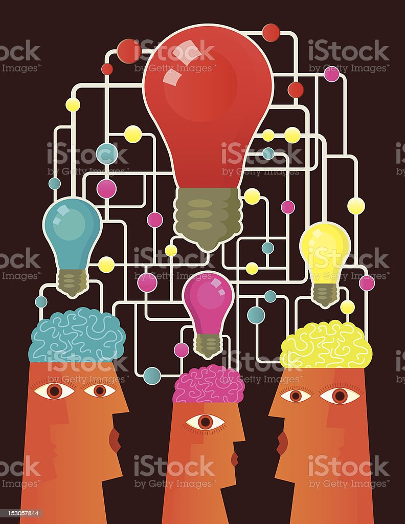 Together For One Solution royalty-free together for one solution stock vector art & more images of activity