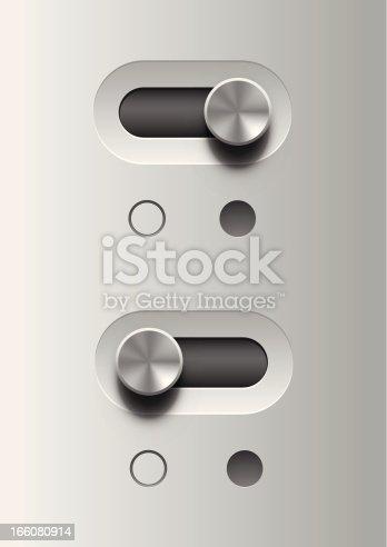 istock Toggle switch 166080914