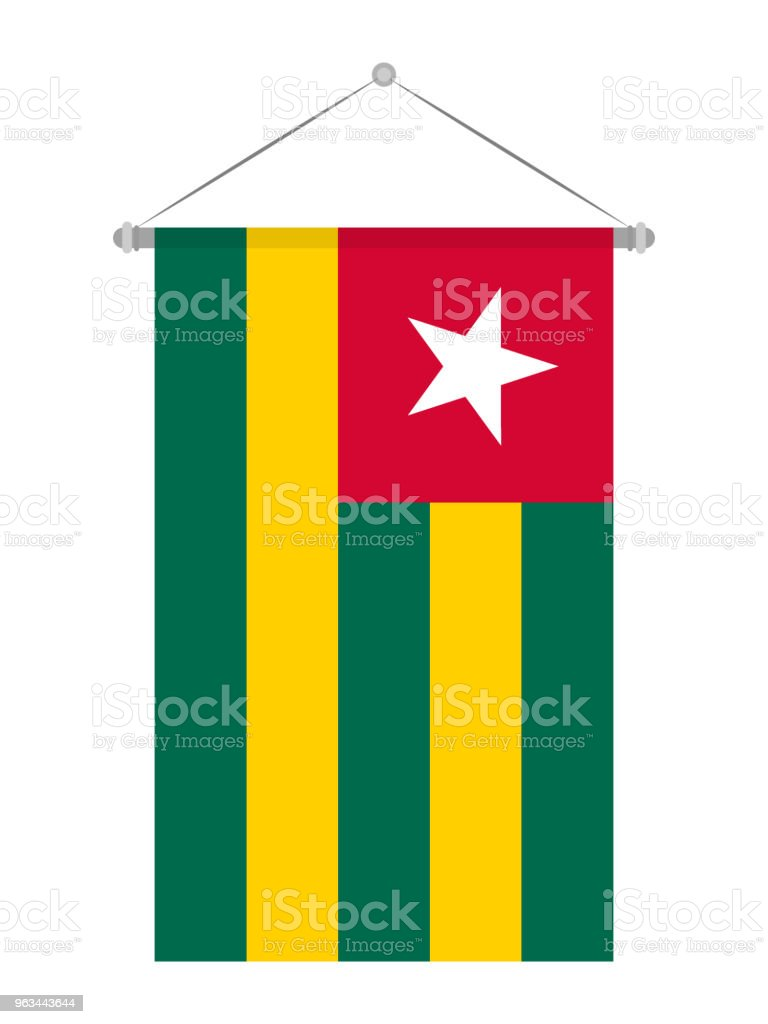 Togo bayrak - Royalty-free Bayrak Vector Art