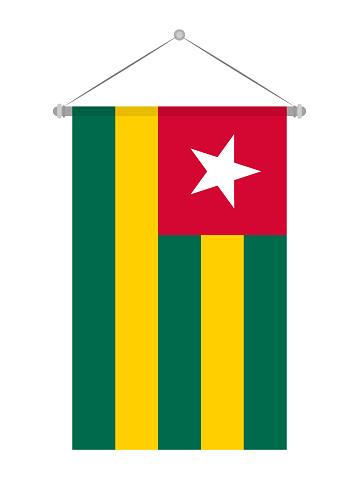 Togo Bayrak Stok Vektör Sanatı & Bayrak'nin Daha Fazla Görseli