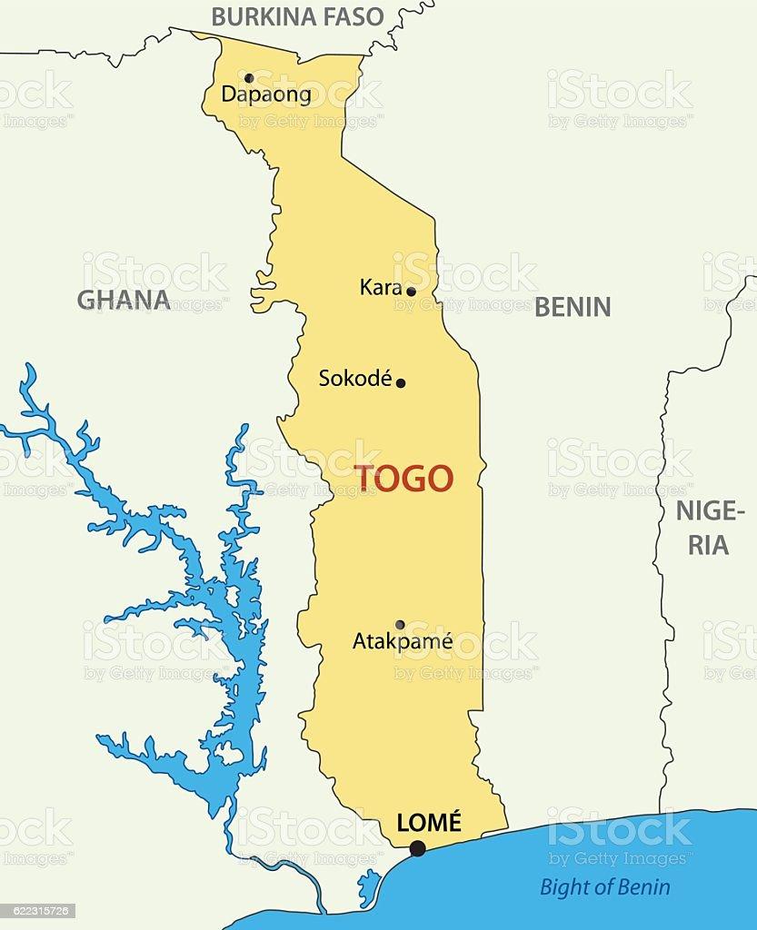 Togo togolese republic vector map arte vectorial de stock y ms togo togolese republic vector map togo togolese republic vector map arte vectorial de gumiabroncs Images