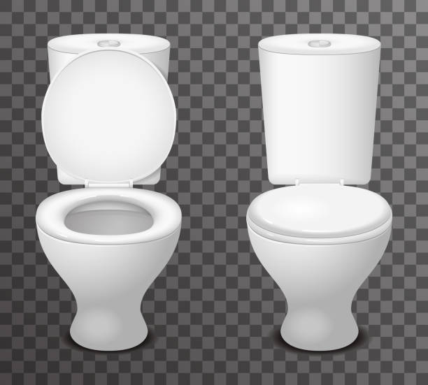 Royalty Free Toilet Clip Art Vector Images: Best Flushing Toilet Illustrations, Royalty-Free Vector