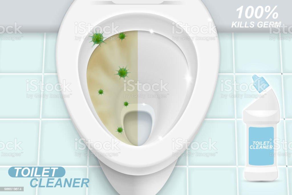 Super Toilet Cleaner Gel Ads Stock Illustration Download Image Pdpeps Interior Chair Design Pdpepsorg