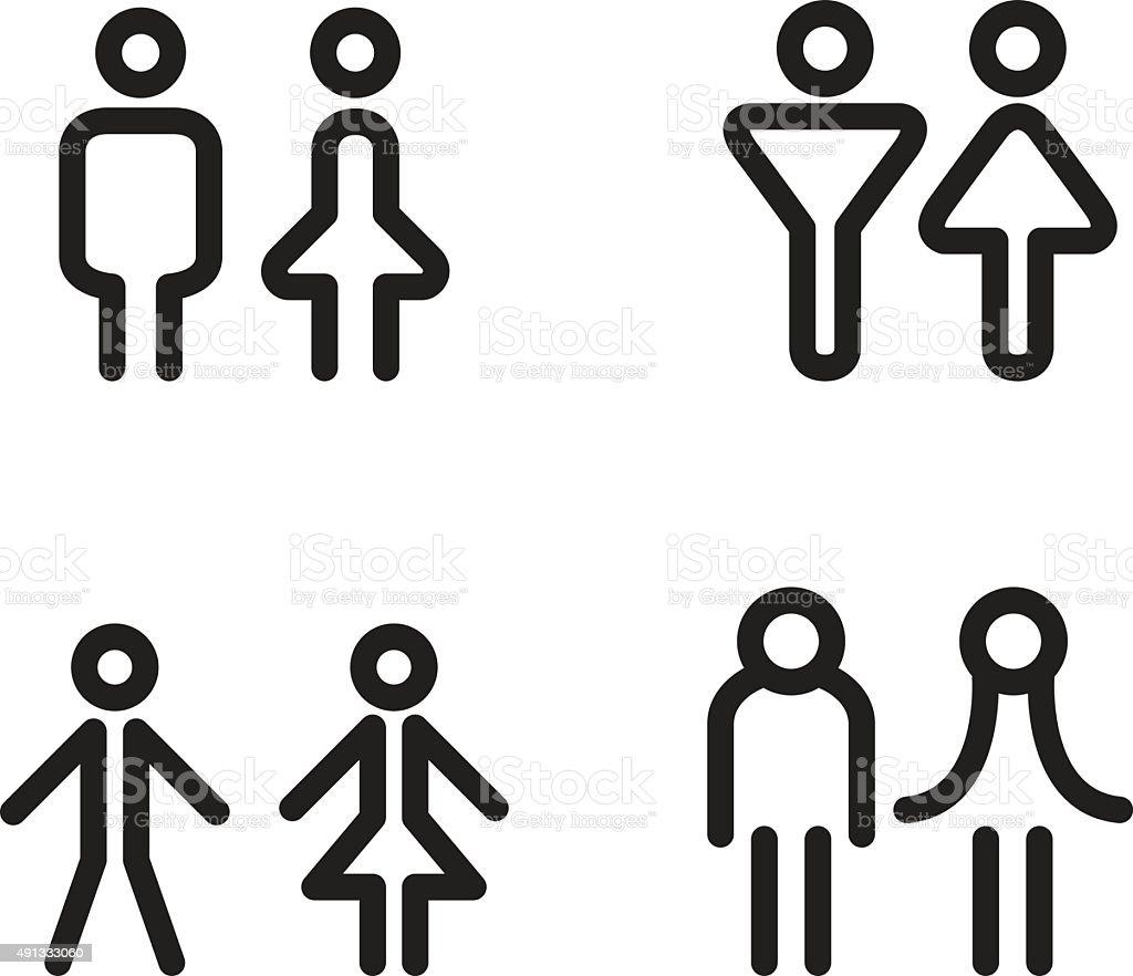 Toilet icon great for any use vector illustration symbol stock bathtub circle data exit sign information medium buycottarizona Images
