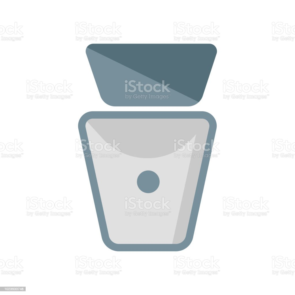 Toilet Icon Vector Sign And Symbol Isolated On White Background Logo Concept Royalty