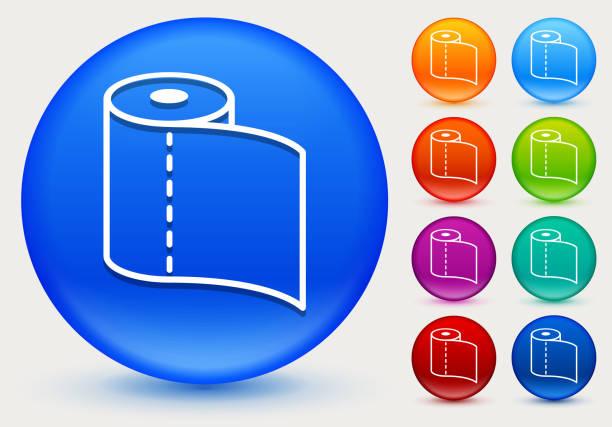 Purple Toilet Paper Clip Art Vector Images Illustrations