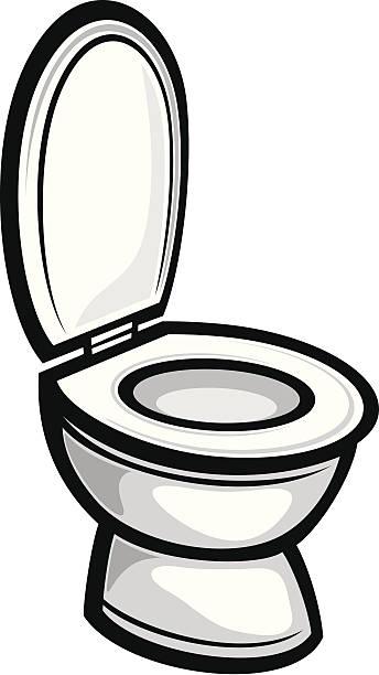 Toilet vector art illustration. Toilet Bowl Clip Art  Vector Images   Illustrations   iStock