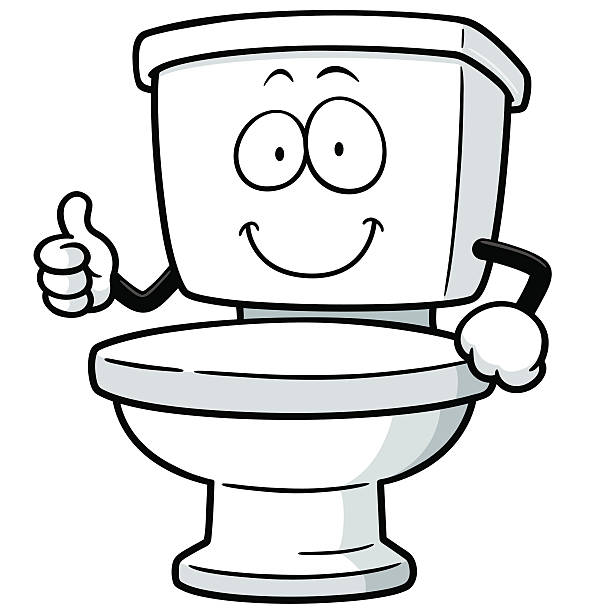 Best Toilet Illustrations, Royalty-Free Vector Graphics