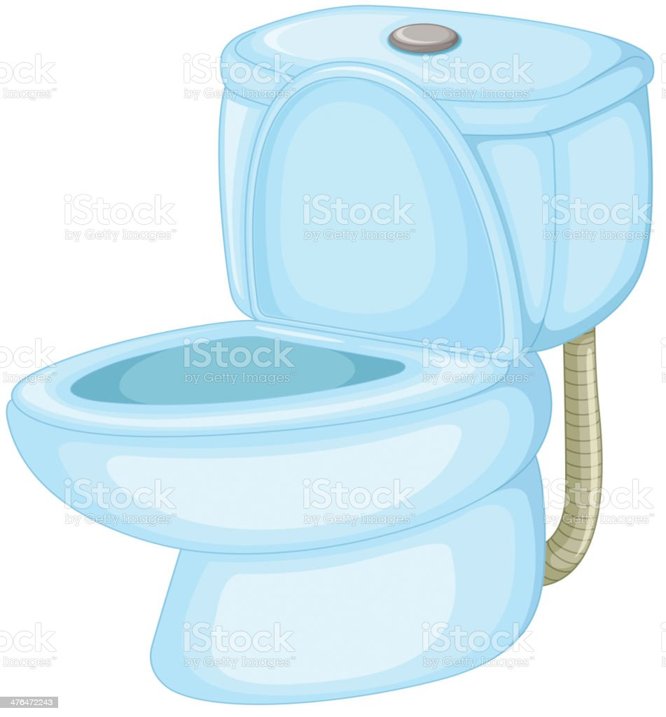 Toilet royalty-free stock vector art