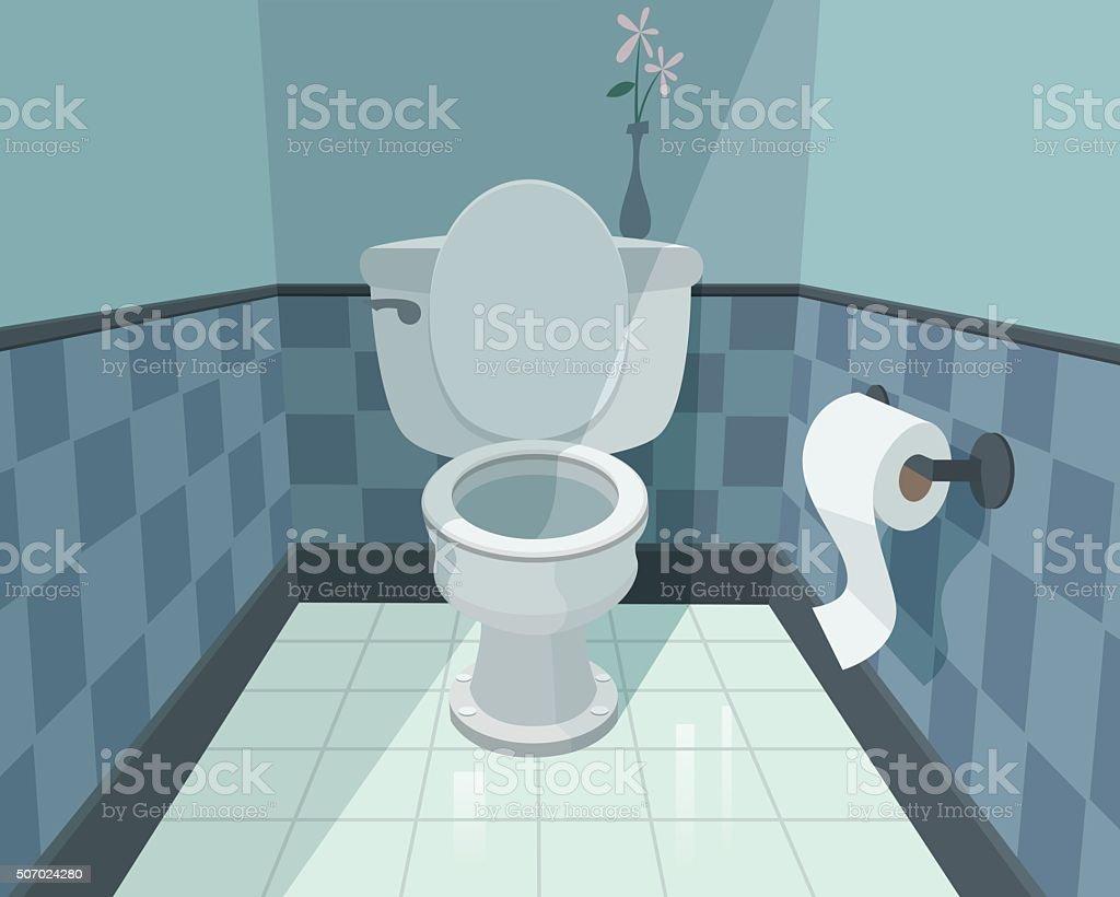 Toilette – Vektorgrafik