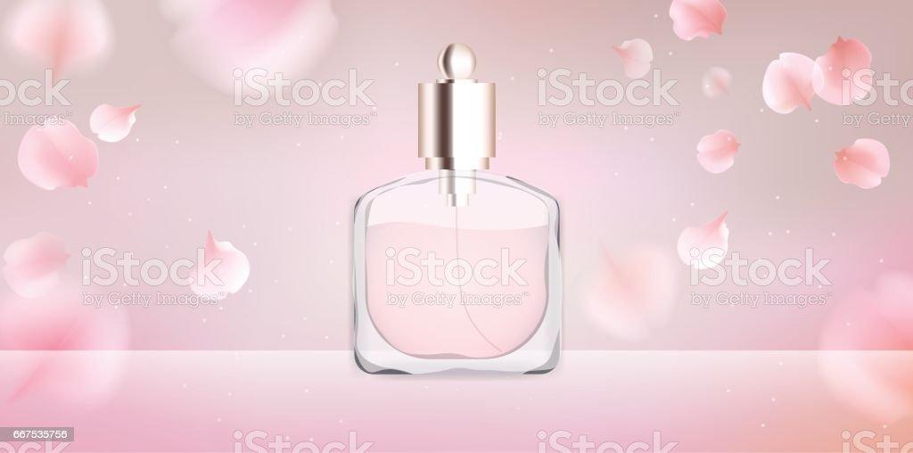 Toilet water perfume bottle vector illustration toilet water perfume bottle vector illustration - immagini vettoriali stock e altre immagini di acqua royalty-free
