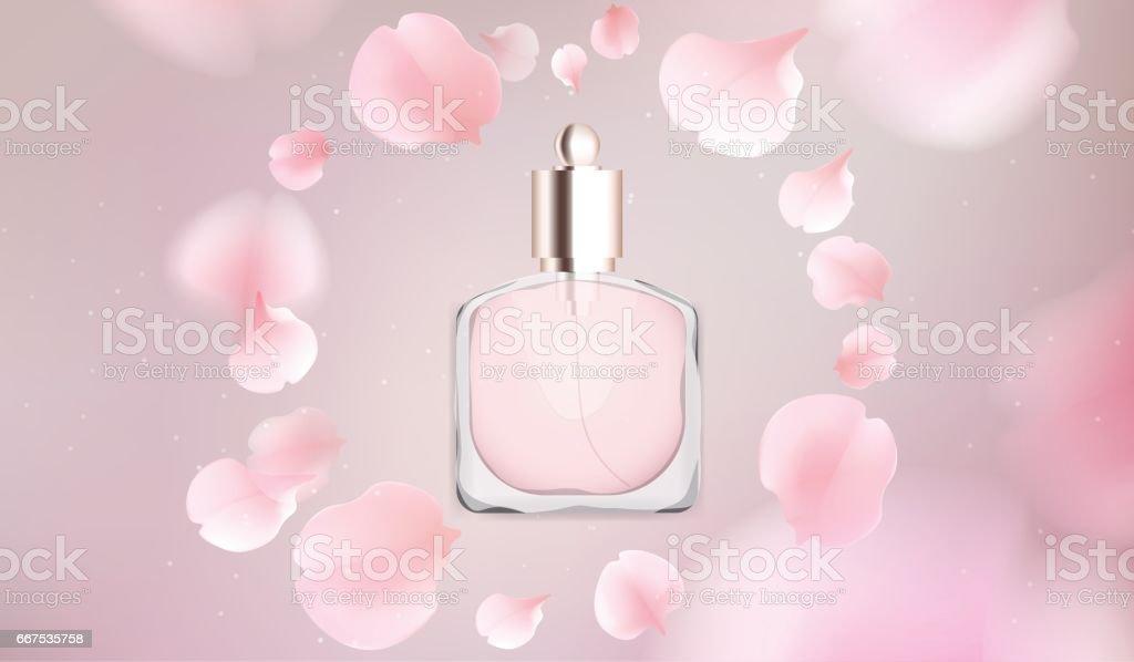 Toilet water perfume bottle vector illustration toilet water perfume bottle vector illustration - immagini vettoriali stock e altre immagini di adulto royalty-free
