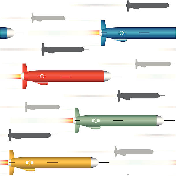 Nuclear Missile Clip Art, Vector Images & Illustrations ...