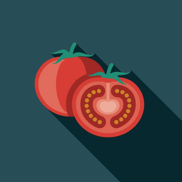 ilustraciones, imágenes clip art, dibujos animados e iconos de stock de icono del tomate diseño grecia - tomate