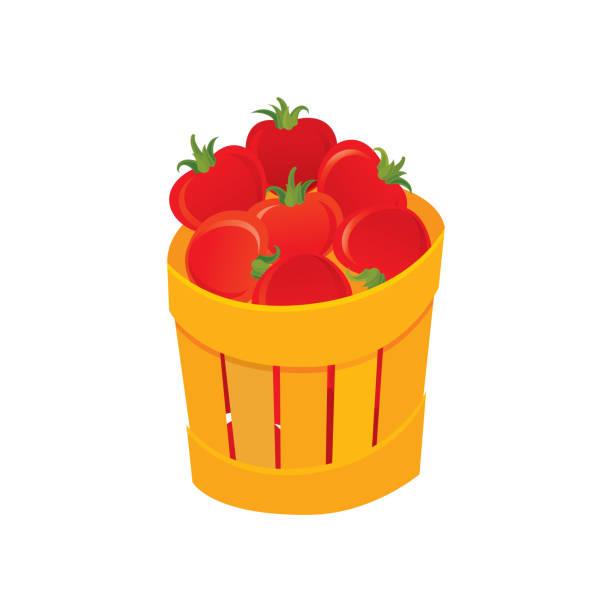 Tomato icon vector art illustration