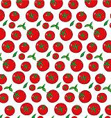 tomato pattern background.vector illustration