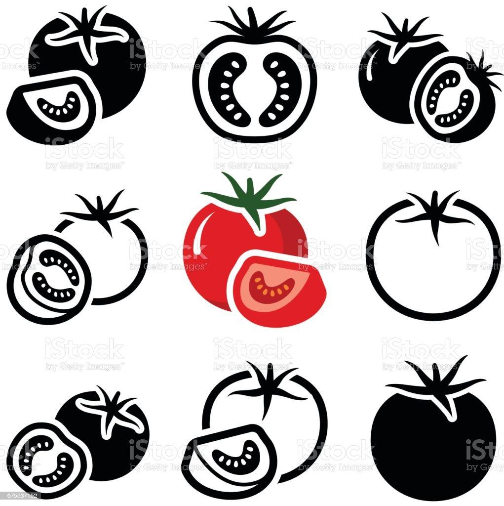 Domates royalty-free domates stok vektör sanatı & dikey'nin daha fazla görseli