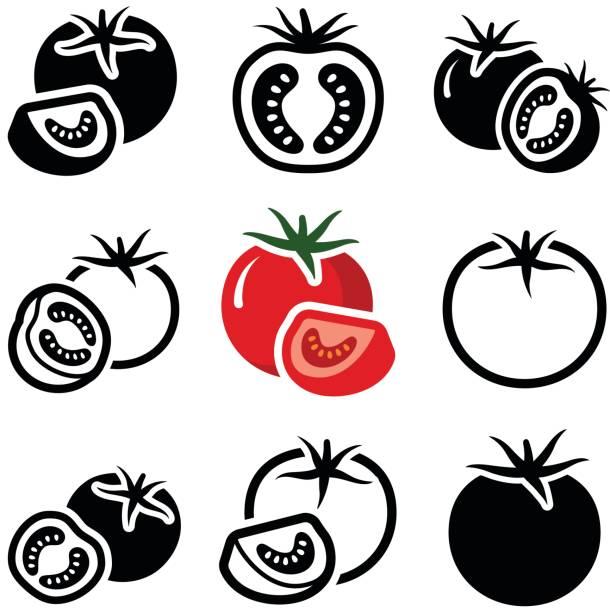 トマト - トマト点のイラスト素材/クリップアート素材/マンガ素材/アイコン素材