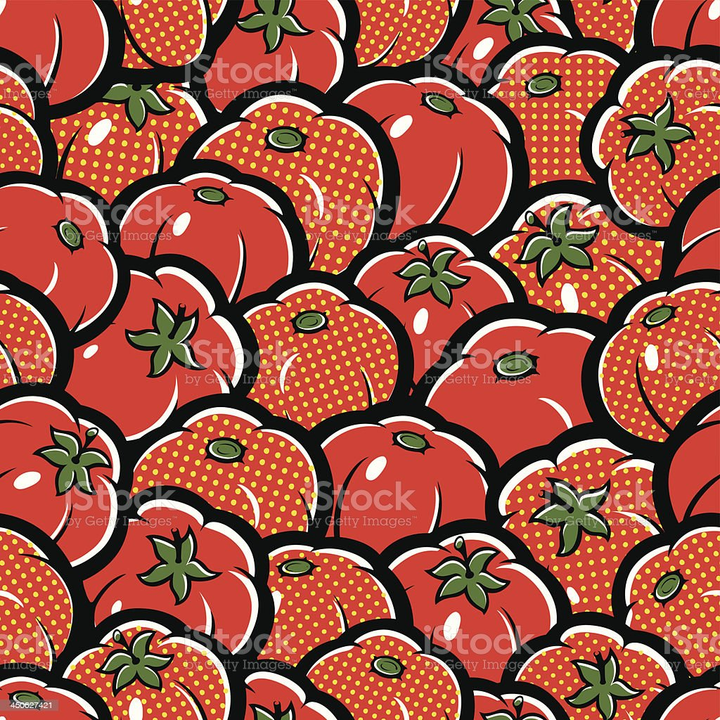 Tomatoes royalty-free stock vector art