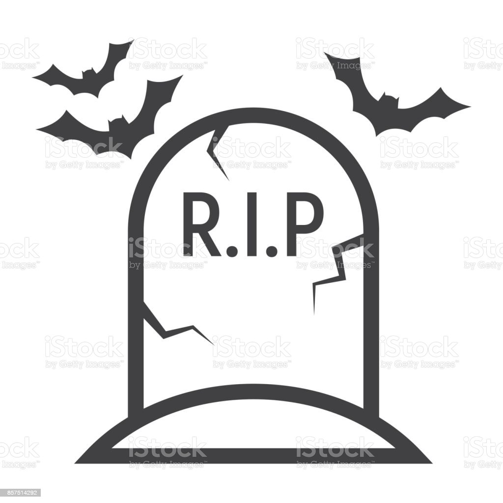 royalty free drawing of a rip gravestone clip art vector images rh istockphoto com
