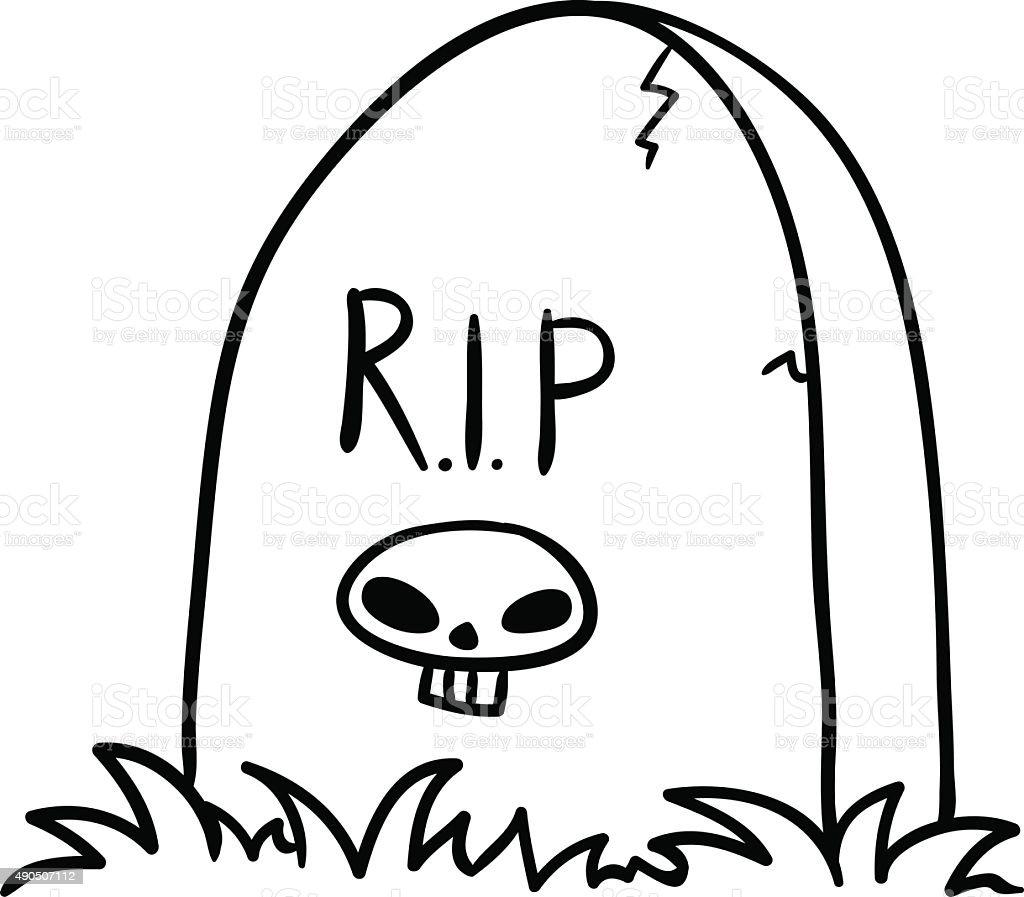 tombstone vector stock vector art more images of 2015 490507112 rh istockphoto com tombstone logo vector tombstone vector images