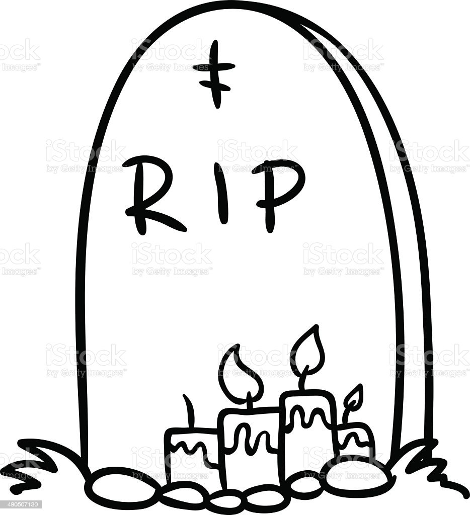 tombstone vector stock vector art more images of 2015 490507130 rh istockphoto com tombstone vector images halloween tombstone vector