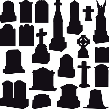 Tombstones, Headstones, Gravestone and Crosses