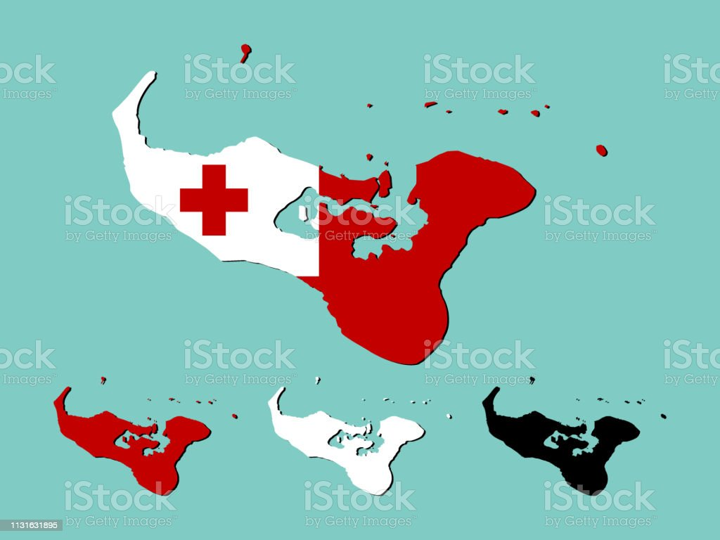 Image of: Tonga Map Stock Illustration Download Image Now Istock